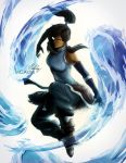 Korra Avatar state artwork + video by MCAshe