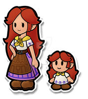 Paper Mario Malon by Decapitated-Kittens