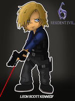 Leon Kennedy RE6 by xRubiMalonex