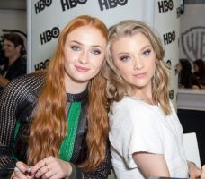 Sophie Turner and Natalie Dormer Compete for You! by Swagsurfer