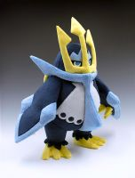 Empoleon by caffwin