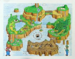 Super Mario World by mbatman