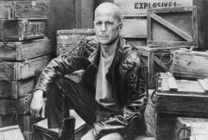 Bruce Willis by vikygrafikk