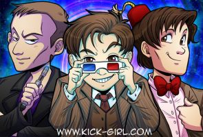 Three Doctors by valval