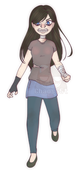 OC Redesign: Emma by Chaos55t
