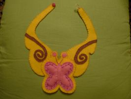 Fluttershy's necklace - Element of Harmony by WitchBehindTheBush