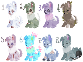 More Doggo Adopts [CLOSED] by FlupTheWhat