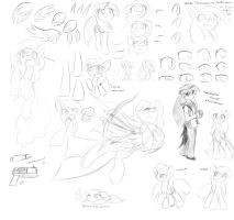 3-23-13 Practice Sketches by DShou