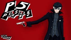 THE PHANTOM - PERSONA 5 PROTAGONIST by Not-a-Hazard