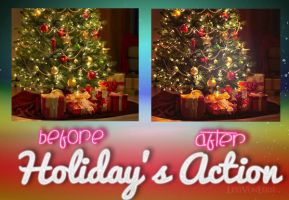 LVE Holiday's Action by LexiVonEerie
