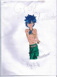 Gray Fullbuster by Lily-the-Vocaloid