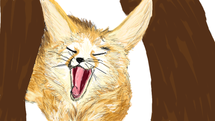 April the Fennec Fox by zulas-apperentice