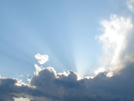 Wild Blue Yonder Sky Clouds 21 by FantasyStock