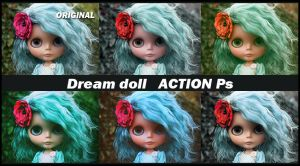 Dream doll   ACTIONS Ps  by Laurent-Dubus