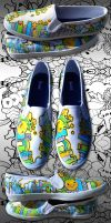 Kuwait City Shoes by marywinkler