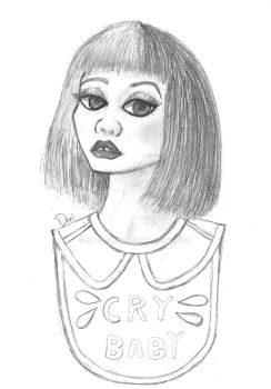 Melanie Martinez Cry Baby Sketch