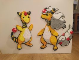 Pokemon #55 - Mega Ampharos by MagicPearls