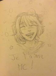 I love you MC ! by Coeur2Verre