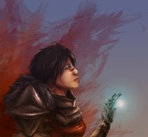 Wounded Warsong by Pereprin