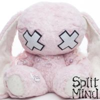Oni Bunny by splitmindplush