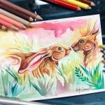 Spring Hares by Lucky978