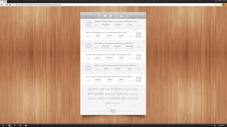 My Bookmarks Panel 6.0 by Lusitan