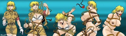 The evolution of Seras Victoria by BlackProf