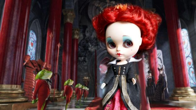 Red Queen Blythe by BlytheFairyTales