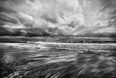 Inverness Beach Abstract by EvaMcDermott