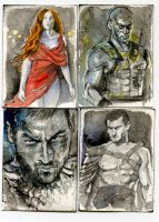 spartacus by cowpatface