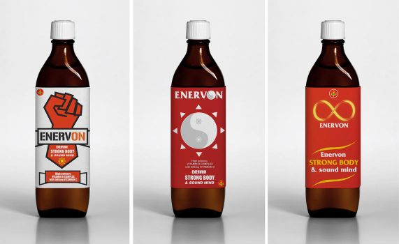 Research ENERVON packaging by As00