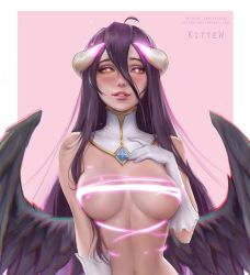 Albedo nsfw preview by Kittew