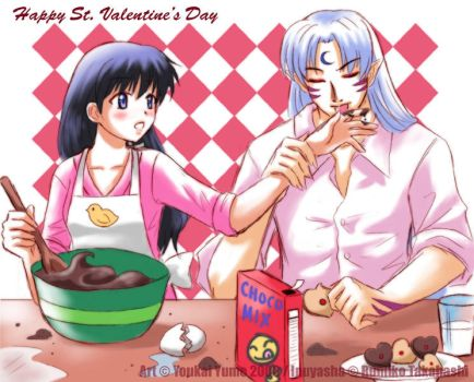 +SessKag+ Valentine Sweets by YoukaiYume