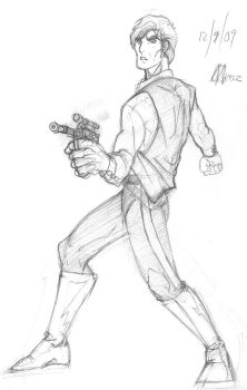 Han Solo by MicktheUnbelievable
