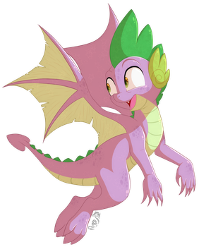 [MLP] Spikes new wings by Spirit-1