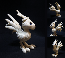 Chocobo (paintable) by dashase