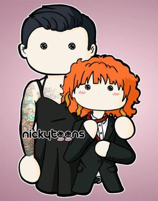 Hayley and Chad by NickyToons