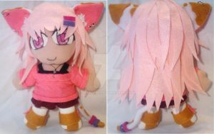 Commission: OC Mireille-Chan Small Chibi Plush by mihijime