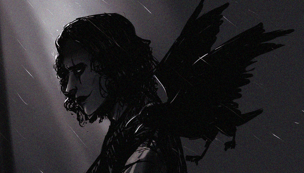 The crow by Nateyou