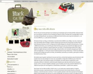 Black Cat Hat blog by arwenita