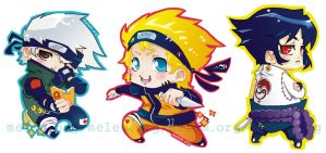 Chibi Naruto Collection by melem