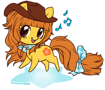 butterscotch patch by ponymonster