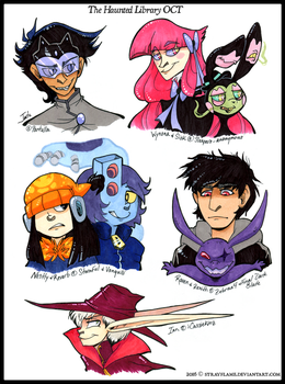 Haunted Library Round 1 Prizes - Batch 1 by StrayFlame