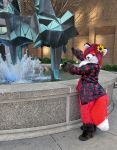 Wheee foxy powers by PudgeyRedFox