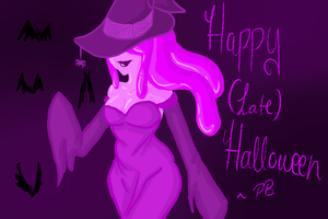happy (late) halloween from PB by Thea0605