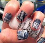 Marble Nails by originofemilie