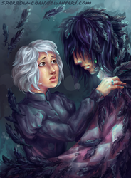Black Crow by sparrow-chan