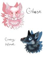Stark Direwolves (Part 2) by TheMashedCat