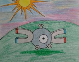 Magnemite by SynthaRoboto