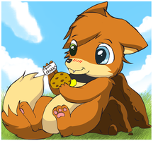 Complimentary Cookie by pichu90